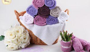 Mua khăn tắm Poêmy mềm mịn, chất lượng cao